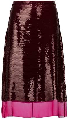 Stella McCartney sequin Margot skirt
