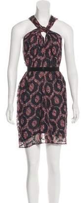 Isabel Marant Silk-Blend Mini Dress