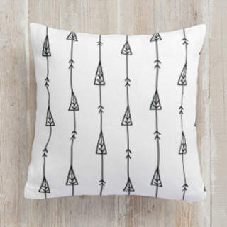 arrow woodland Self-Launch Square Pillows