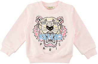 Kenzo Tiger Embroidered Sweater, Size 2-3