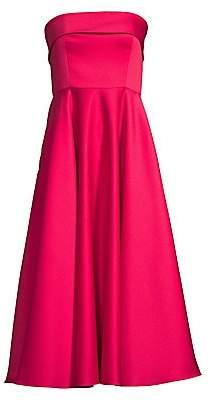 Jay Godfrey Women's Pettigrew Strapless Midi Dress