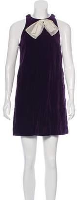 3.1 Phillip Lim Velvet Mini Dress