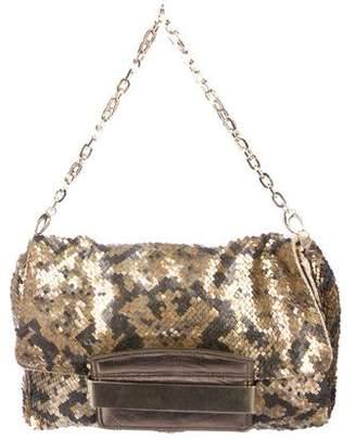 Jimmy Choo Sequin Chain-Link Bag