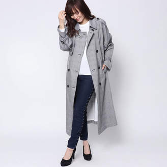 GUESS (ゲス) - ゲス GUESS GLEN CHECK TRENCH COAT