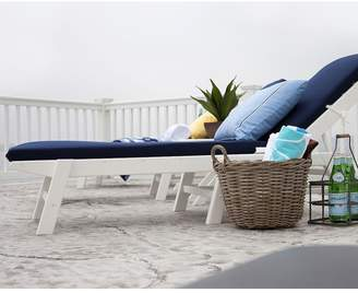 Polywood 5-pc. Nautical Chaise Chair & Table Set - Outdoor