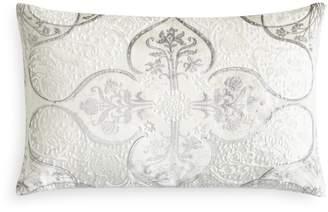 Kevin OBrien Kevin O'Brien Studio Persian Flocked Velvet Decorative Pillow, 12 x 18