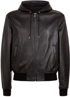 Versace Leather Medusa Jacket