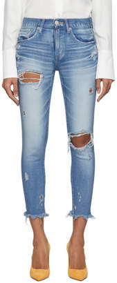 Moussy Vintage Blue Ridgewood Skinny Jeans