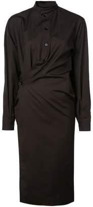 Lemaire wrap shirt dress