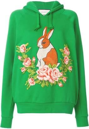 Gucci rabbit oversize sweatshirt