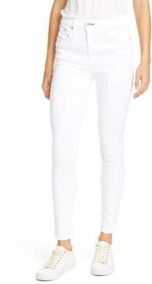 Rag & Bone High Waist Ankle Skinny Jeans