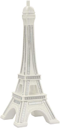 Three Hands Corp White Eiffel Tower Home Accent
