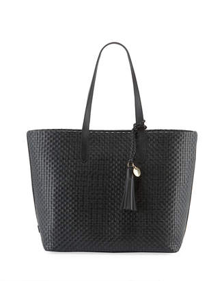 Cole Haan Payson Woven Leather Tote Bag