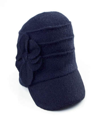 San Diego Hat Company Wool Cadet With Flowers