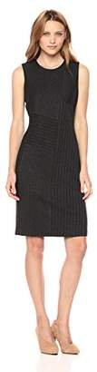 Calvin Klein Women's Patchwork Sheath Dress