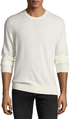 Michael Kors Washed Wool Crewneck Sweater