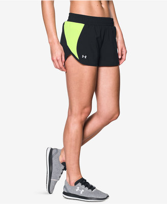 Under Armour Launch 2-in-1 Tulip Shorts $34.99 thestylecure.com