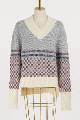 Thom Browne Cashmere and mohair sweater