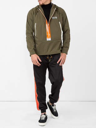 Comme des Garcons Junya Watanabe Man High-gloss placket jacket