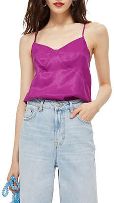 Topshop PETITE Seam Detail Camisole Top