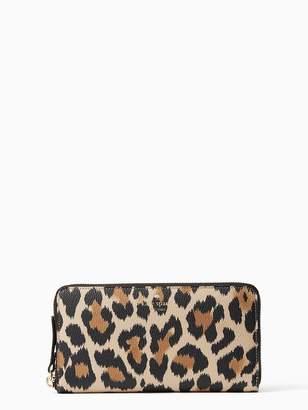 Kate Spade Wallet Hyde Lane Leopard Michele