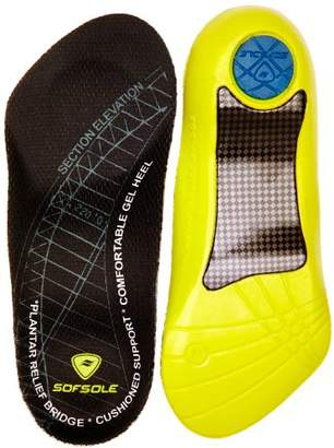 Sof Sole Sofsole Plantar Fascia Gel Shoe Insole for Heel Spurs and Plantar Fasciitis