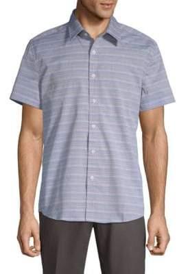 Hyden Yoo Tyler Cotton Button-Down Shirt