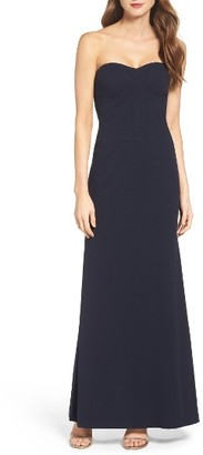 Women's Vera Wang Convertible Jersey Gown $278 thestylecure.com