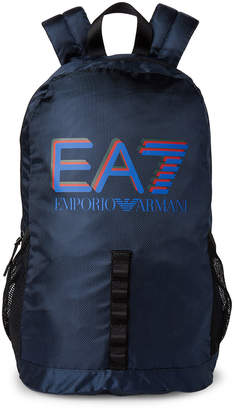 Emporio Armani Ea7 Blue Train Visibility Backpack