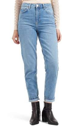 Topshop Light Denim Mom Jeans