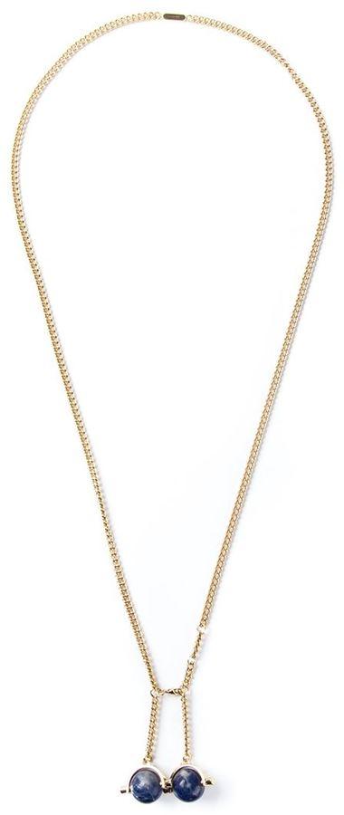 Chloé 'Abby' lapis necklace