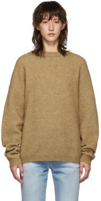 Acne Studios Brown Dramatic Mohair Sweater