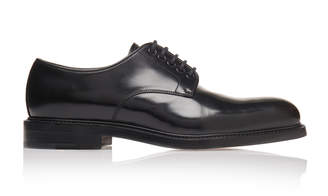 Prada Lace-Up Calfskin Blucher Shoes