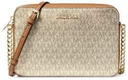 MICHAEL Michael Kors Metallic Logo Crossbody Bag