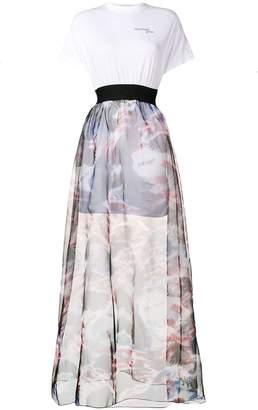 Palm Angels high waisted full skirt