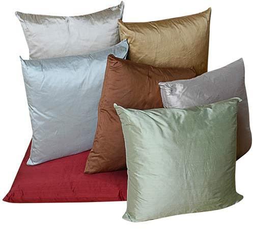 Silk Dupioni Toss Pillows