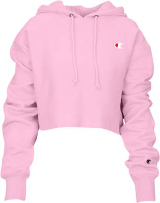 Champion Cropped Cut-Off Hoodie - Women's