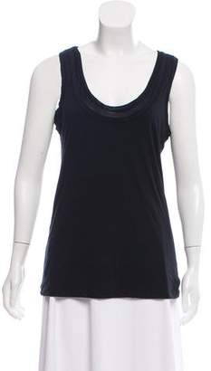 Tory Burch Scoop Neck Tank Top