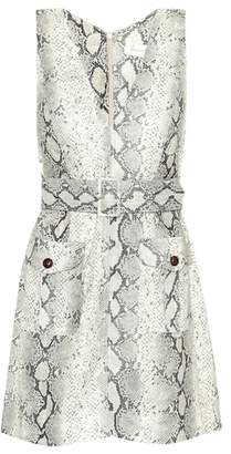 Zimmermann Corsage Safari linen dress