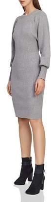 Reiss Nordica Bishop-Sleeve Sweater Dress