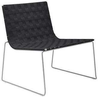 Janus et Cie Trenza Accent Chair - White/Graphite