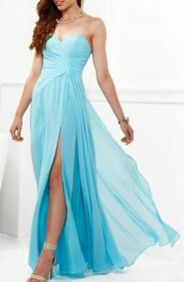 Faviana Tiffany Blue Gown