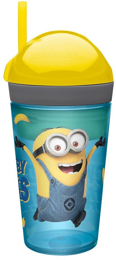 Zak designs Despicable Me 2 Zak!Snak Snack Cup by Zak Designs
