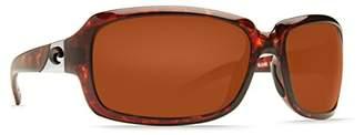 Costa del Mar Isabela Sunglasses /Gray 580Plastic