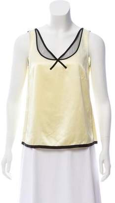 Marc Jacobs Sleeveless Silk Top w/ Tags