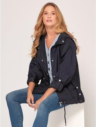 M&Co Shower resistant utility jacket