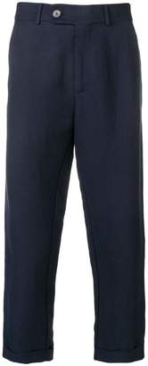 Societe Anonyme roll-up hem cropped trousers