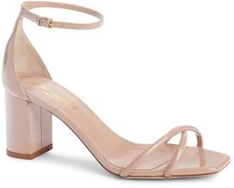 Saint Laurent Loulou Ankle Strap Sandal