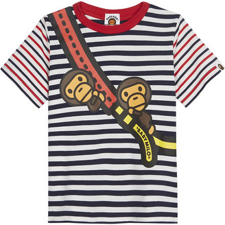 A Bathing Ape Baby Milo cotton T-shirt 4-8 years $104 thestylecure.com