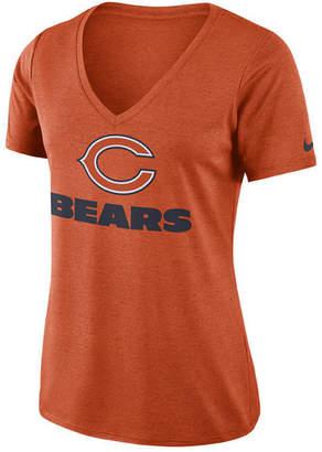 Nike Women's Chicago Bears Dri-fit Touch T-Shirt